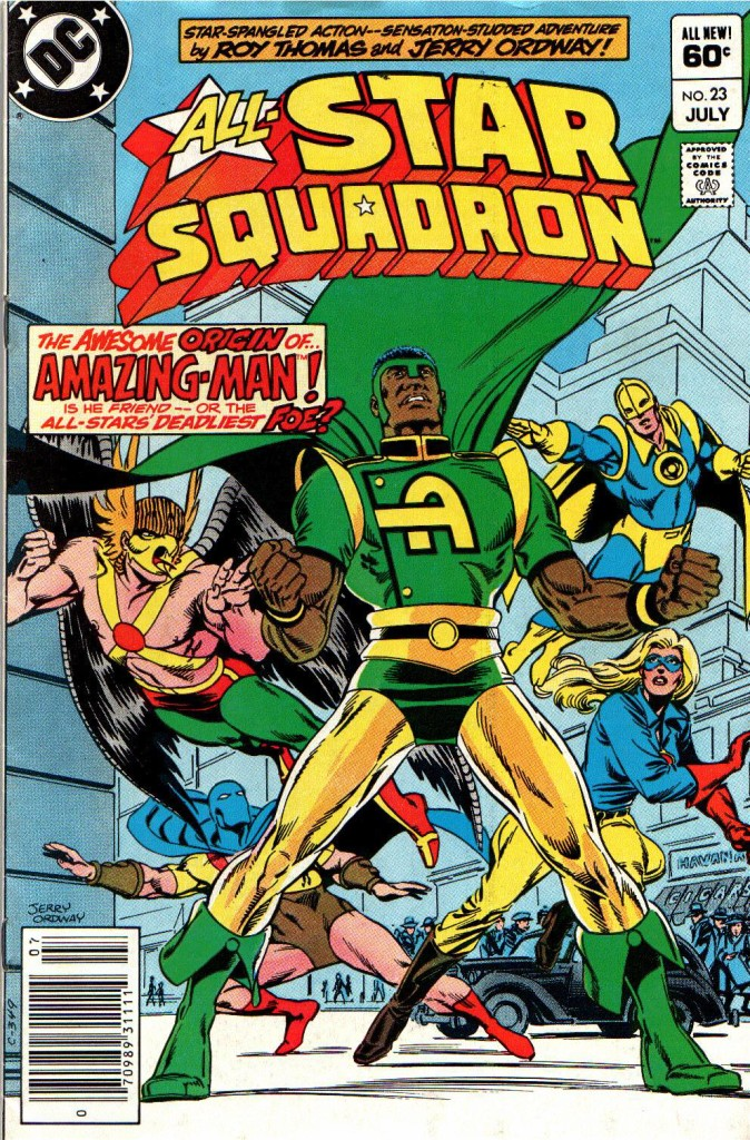 all star squadron 23-01
