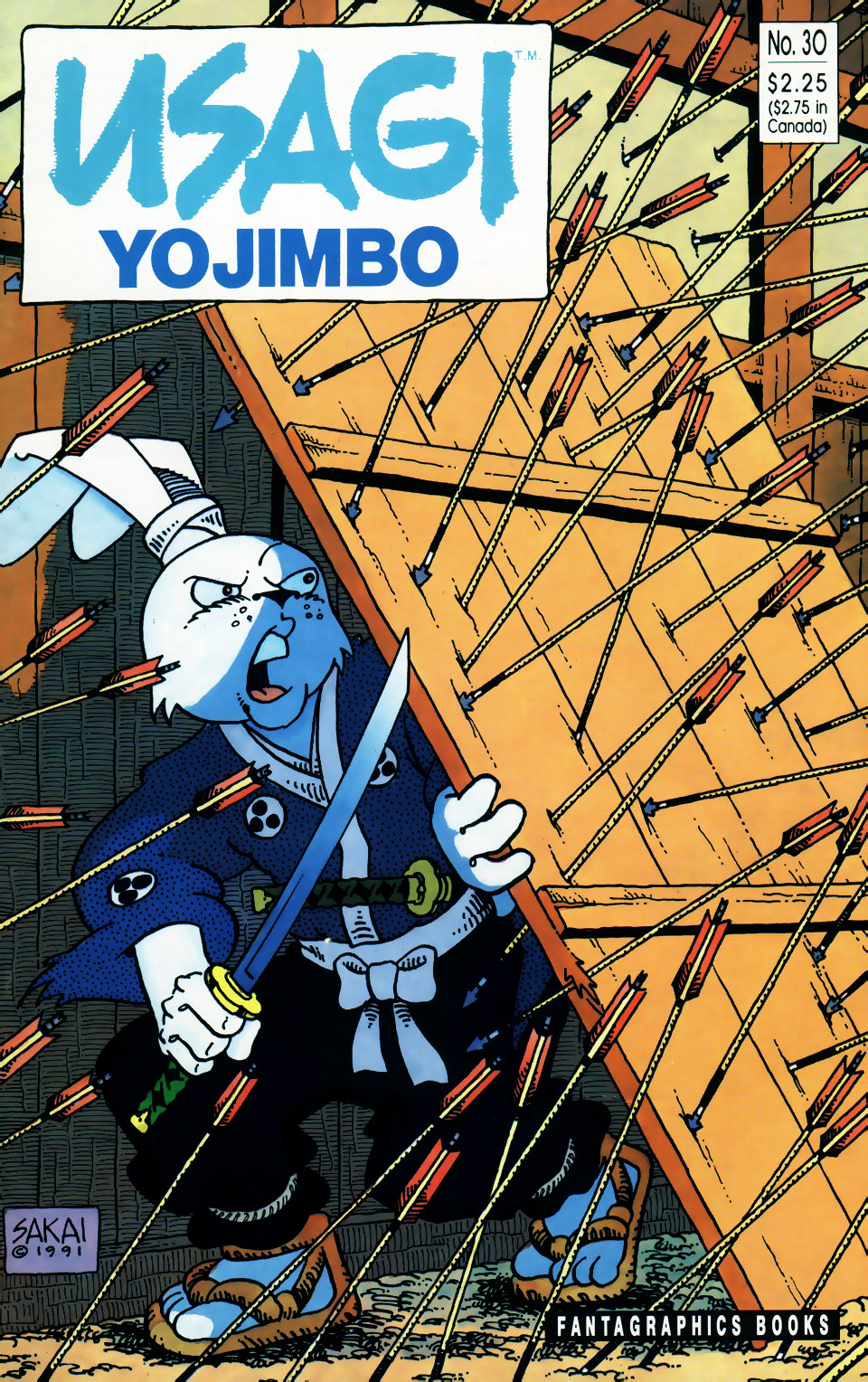 Usagi Yojimbo v1 30 cover