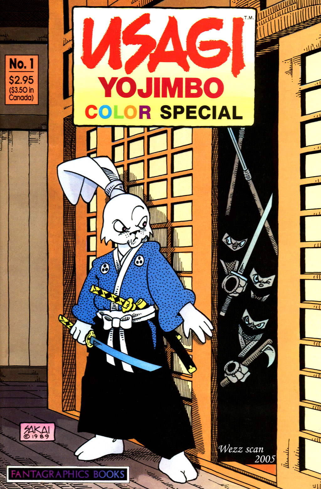Usagi Yojimbo Color Special 01-00 (Wezz)