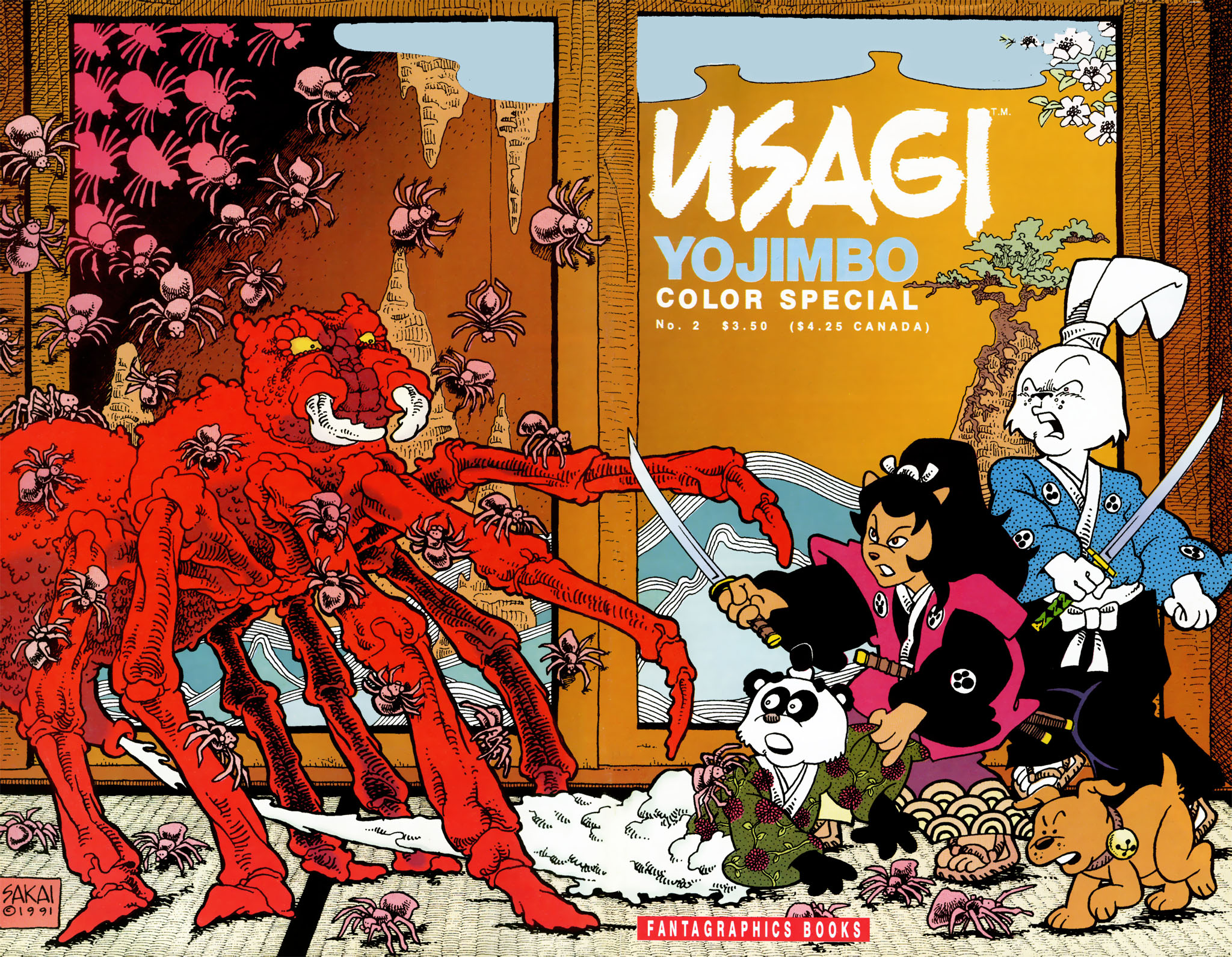 Usagi Yojimbo Color Special 02 (01-02)