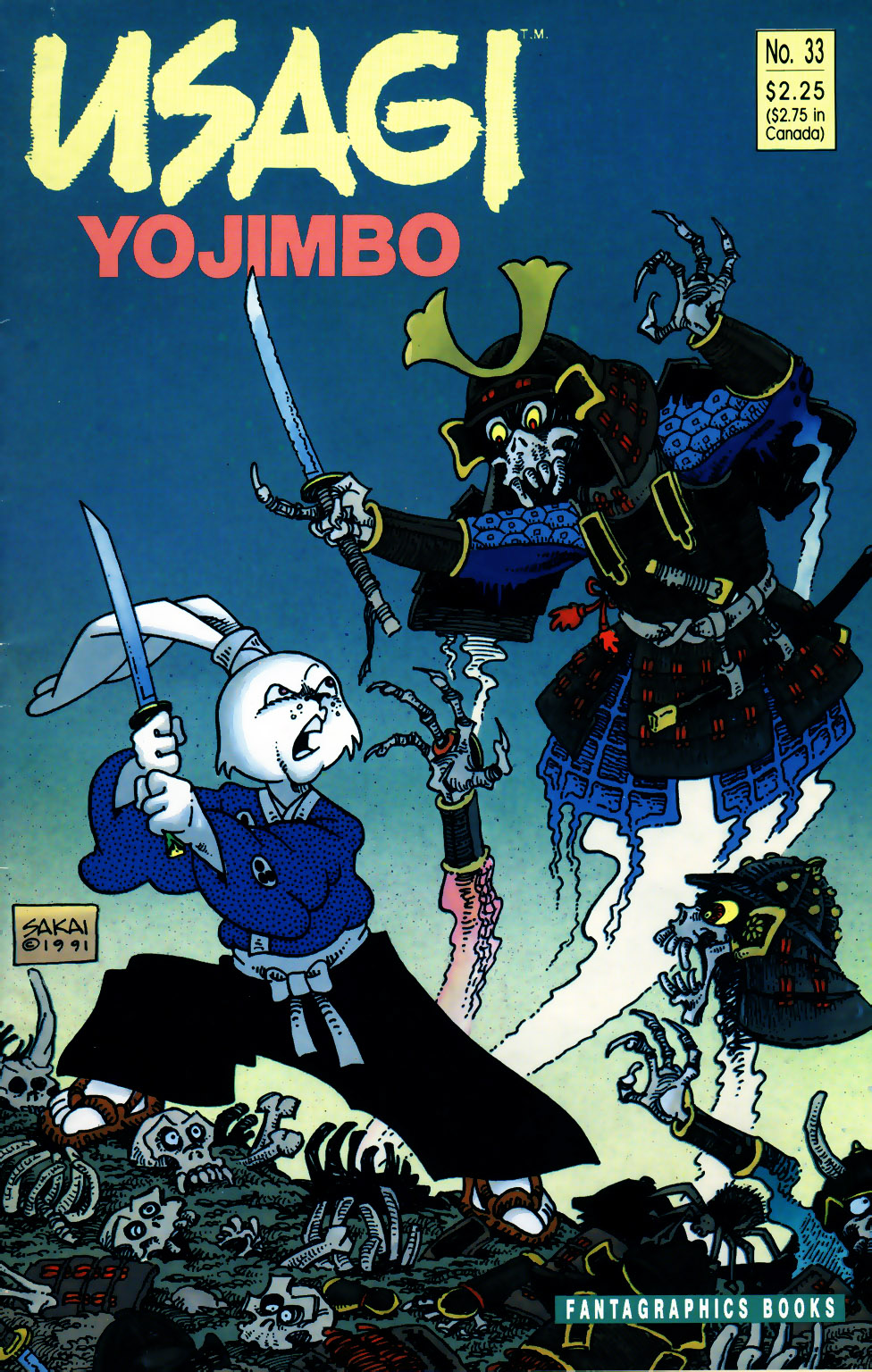 Usagi Yojimbo v1 33 cover