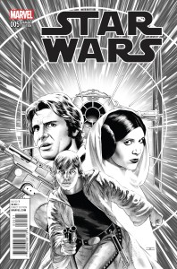 Star Wars 005-000b (John Cassaday Sketch variant)
