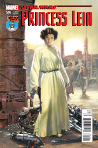 Princess Leia 005-000b (Gabriele Dell'Otto Mile High Comics Exclusive variant)