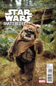 Journey to Star Wars - The Force Awakens - Shattered Empire 001-000d (Movie Photo variant)